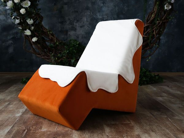 Кресло «Лола» с накидкой
